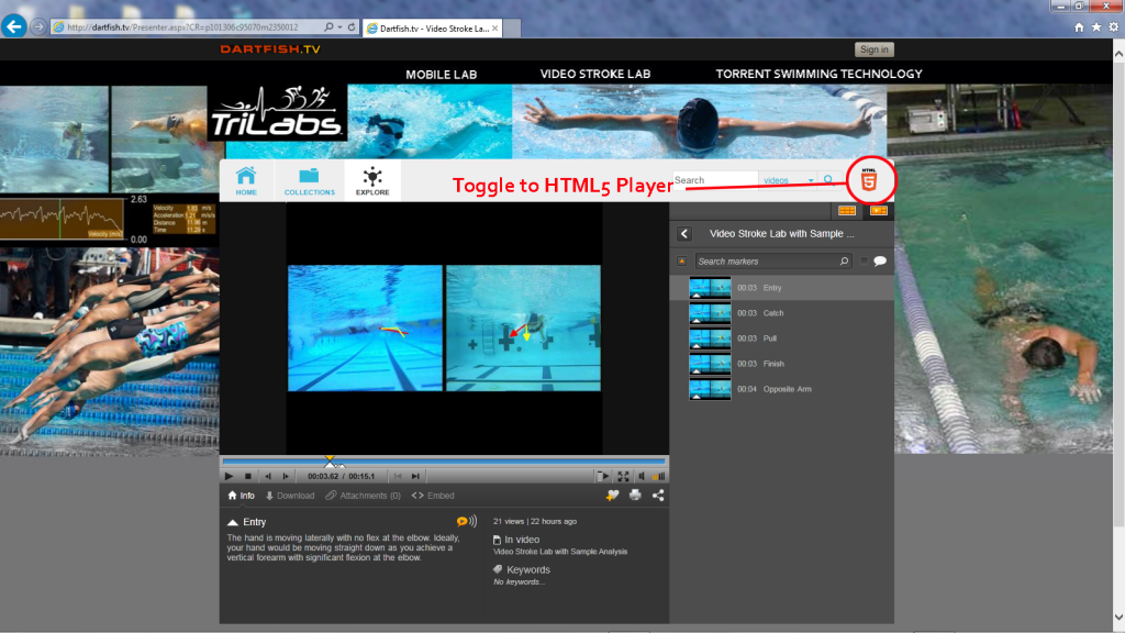 Dartfishtv-Toggle to HTML5 copy